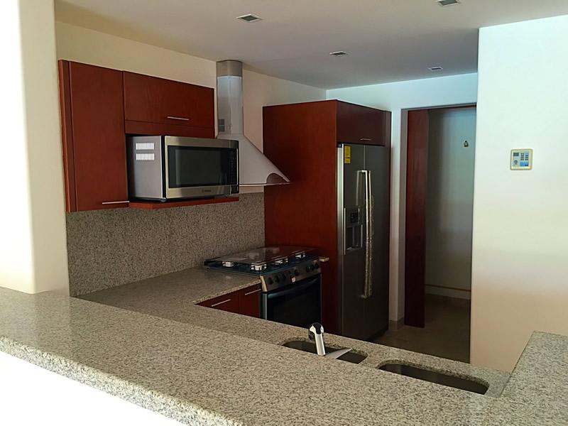 Barra cocina integral Condominio Isla Palmares en el Campo
