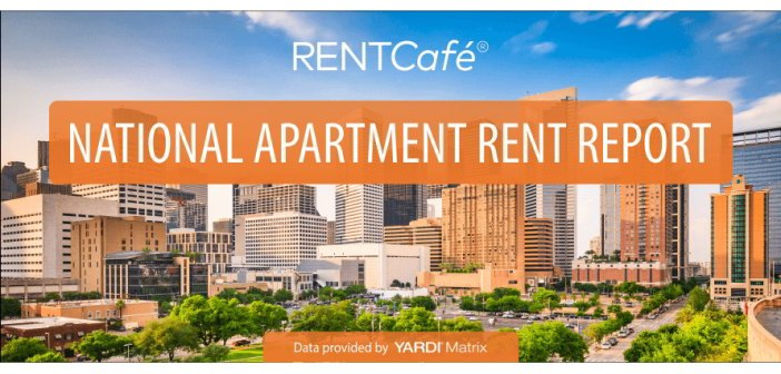 RentCafe: Average Rent up 3% Year-Over-year