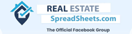Real Estate Spreadsheets FB Group