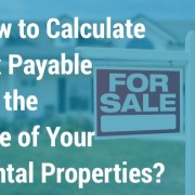 calculate tax payable sale rental properties