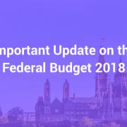federal budget 2018
