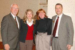 Bob McKinnon, Angie Byers, Tami Bonnell, and John Byers.