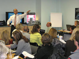 Charlotte Real Estate Blogging Strategy Training - Feb 12th, 2009