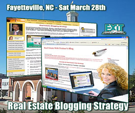 Fayetteville NC Real Estate Blogging Strategy Training - Saturday March 28th, 2009