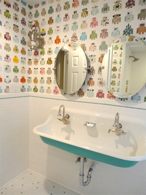 Kid Friendly Bathrooms That Wont Cramp Your Style  Real