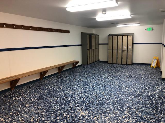 Sudden Valley's locker room