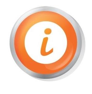 social media icons - info