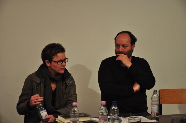 Maxi Obexer und Lars Studer