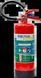 Extintor de incêndio validade de 5 anos portátil pó químico ABC 4 kgs