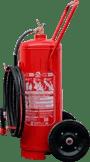 Extintor de incêndio água pressurizada 50 lt sobre rodas