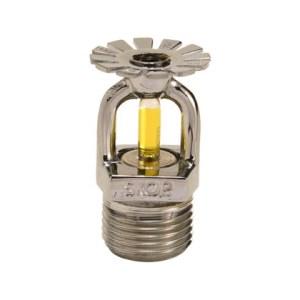 """Sprinkler 79 graus resposta padrão 15 mm 1/2"""" Cromado"""
