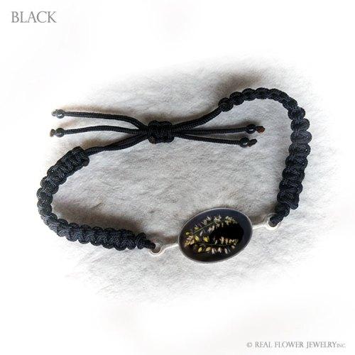 Wild Flower Bracelet (Black)