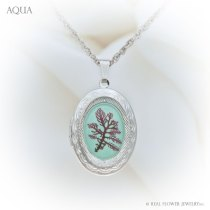 Limu Locket Aqua