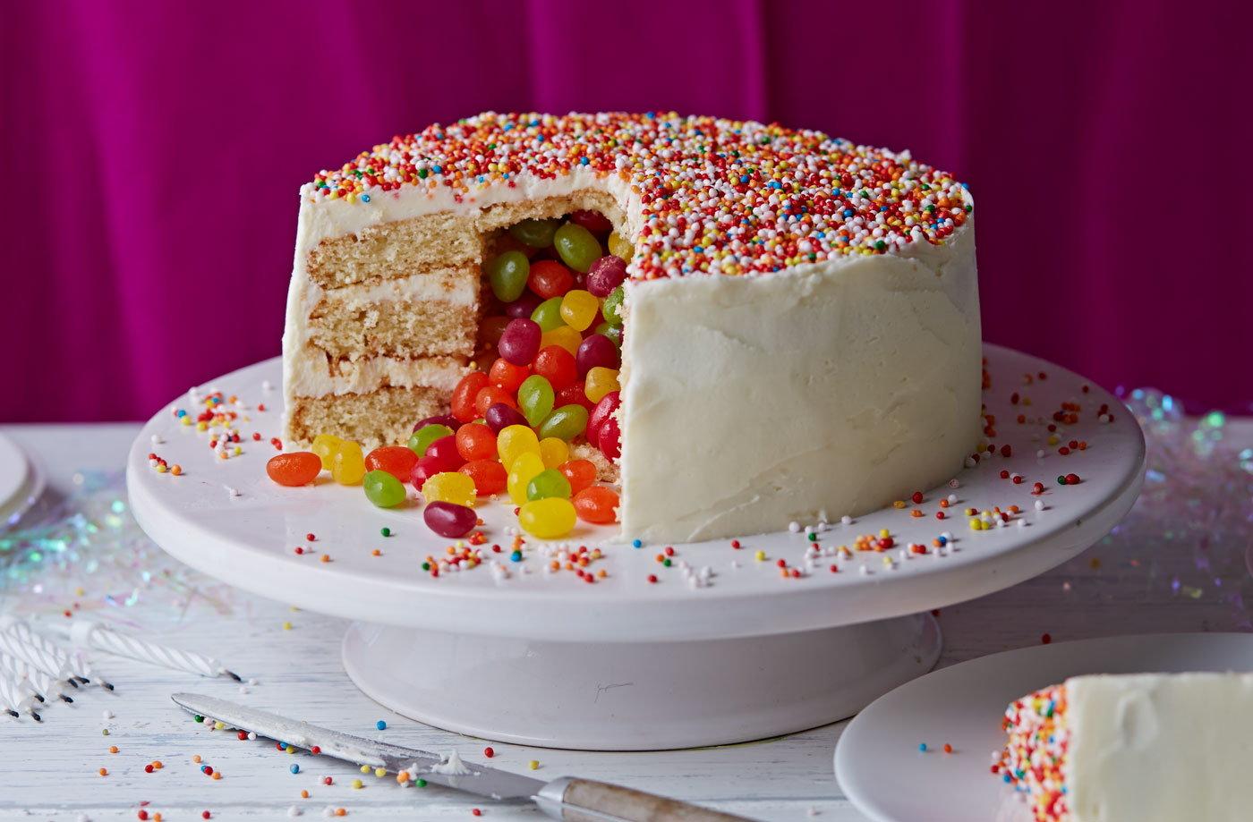 Surprise Pinata Cake