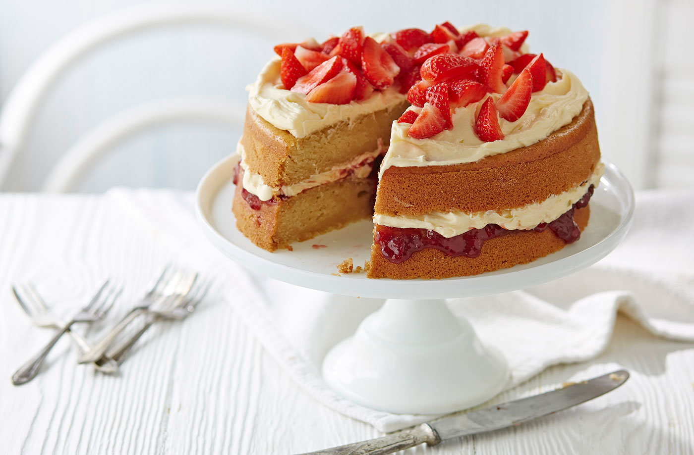 Recipe Victoria Sponge Cake