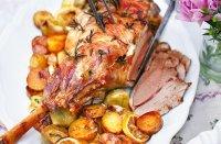 Roast Lamb With Artichokes Recipe | Lamb Recipes | Tesco ...