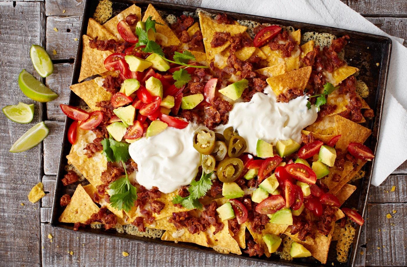 Easy Nachos Recipe Snack Ideas Tesco Real Food