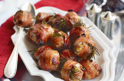 Cranberry And Sausage Stuffing Balls With Bacon Tesco
