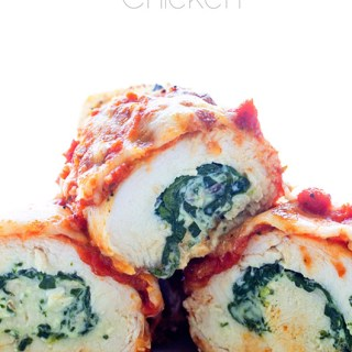 Easy Stuffed Rolled Chicken