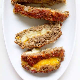 Epic Meatloaf Stuffed with Mashed Potatoes