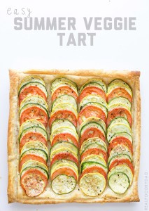 Easy Summer Veggie Tart by Real Food by Dad
