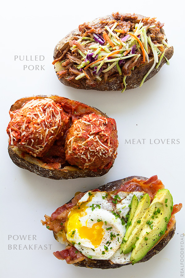 Potato Boats from Real Food by Dad