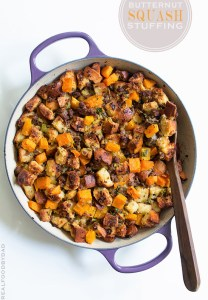 Butternut Squash Stuffing via Real Food by Dad
