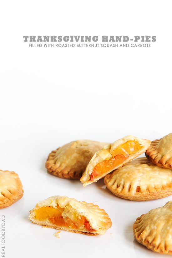 Thanksgiving Hand-Pies from Real Food by Dad