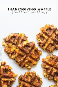 Waffled Stuffing via Real Food by Dad