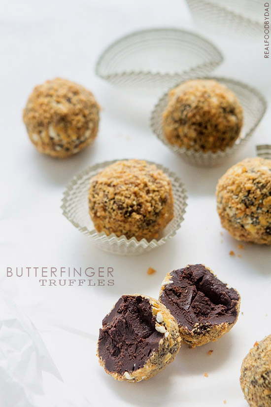 Butterfinger Truffles from Real Food by Dad copy