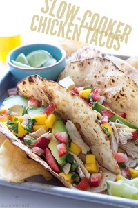 Slow Cooker Chicken Tacos   Real Food by Dad