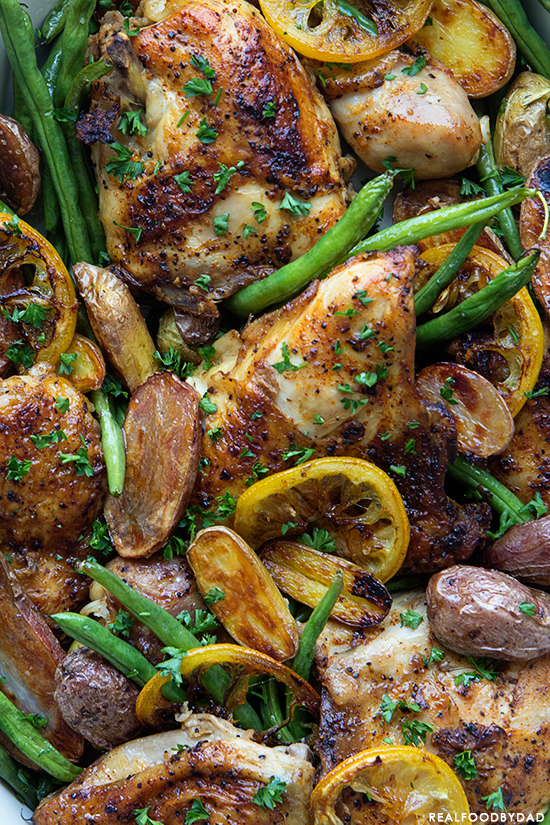 Braised Chicken with Green Beans and Potatoes _ Real Food by Dad
