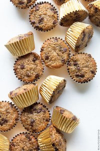 Chocolate Chip Banana Muffins   Real Food by Dad