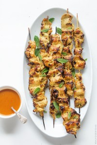 Chicken Satay Real Food by Dad