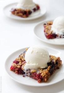 Mixed Berry Crumble Real Food by Dad
