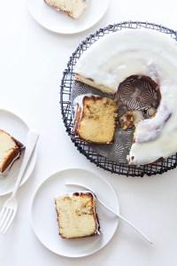 Cinnamon Roll Bundt Cake via Real Food by Dad