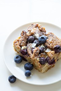 Blueberry Lemon French Toast Casserole via Real Food by Dad