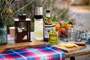 CGA cocktail table