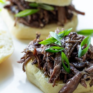 Beer-Braised Short Rib Sliders