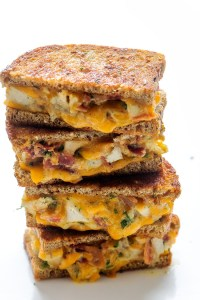 Cheddar Ranch Chicken and Bacon Melt Real Food by Dad