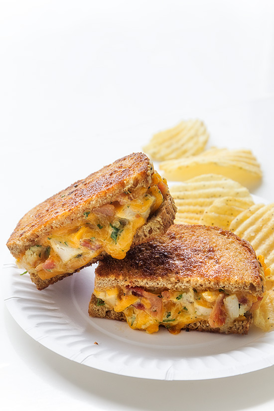 Cheddar Ranch Chicken and Bacon Melt from Real Food by Dad