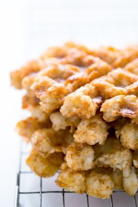 Waffled Tater Tots Real Food by Dad