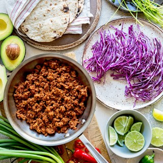 Tempeh Tacos Ingredients Real Food by Dad copy