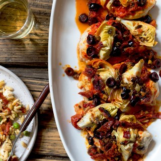 Mediterranean Chicken Packet via Real Food by Dad