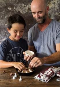Smores Skillet Cookie Real Food by Dad