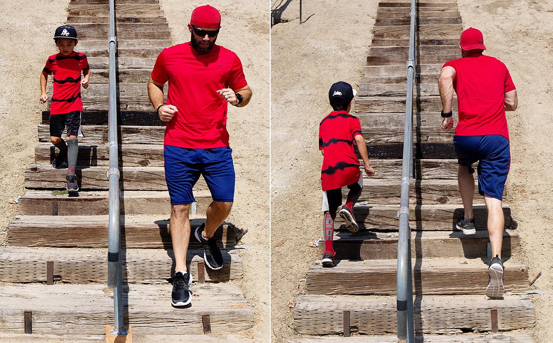Matt and Cole Stairs