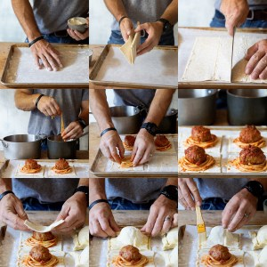 Spaghetti and Meatball Hand Pies Process Shots via Real Food by Dad