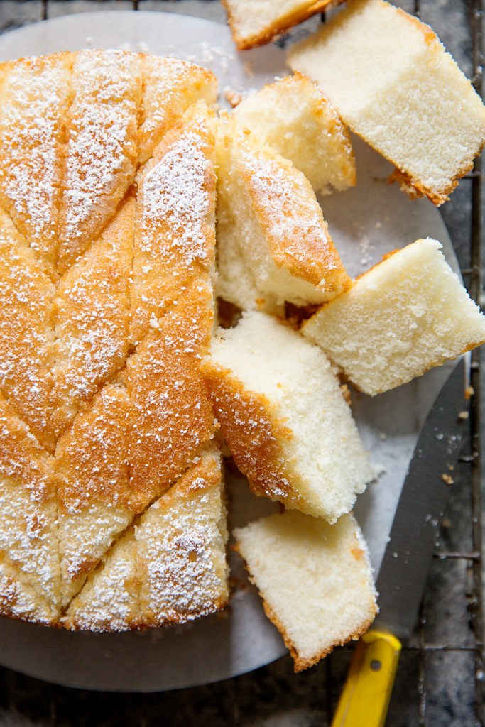 Hot Milk Cake via Real Food by Dad