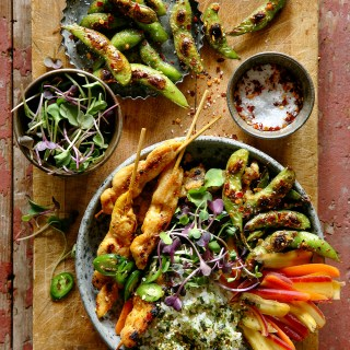 Pizza rolls chicken satay bowls real food by dad forumfinder Images