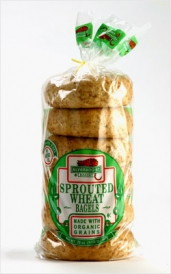 Sprouted Wheat Bagels
